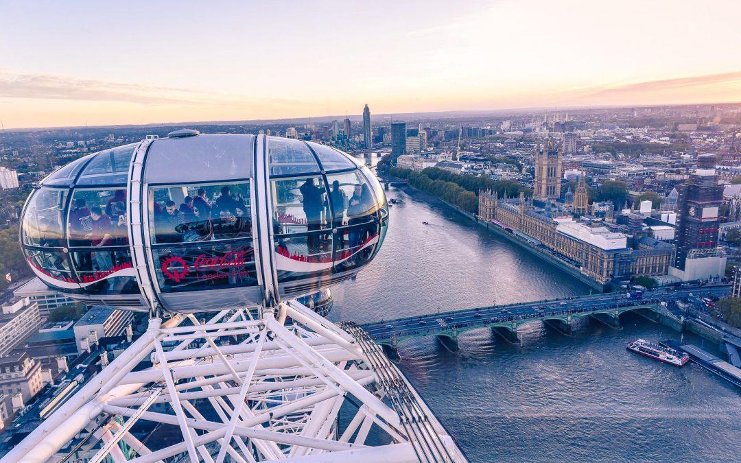 Pięć i pół najlepszych widoków na Londyn