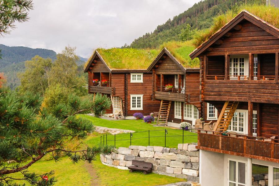 Strofjorde Hotel fiordy w Norwegii
