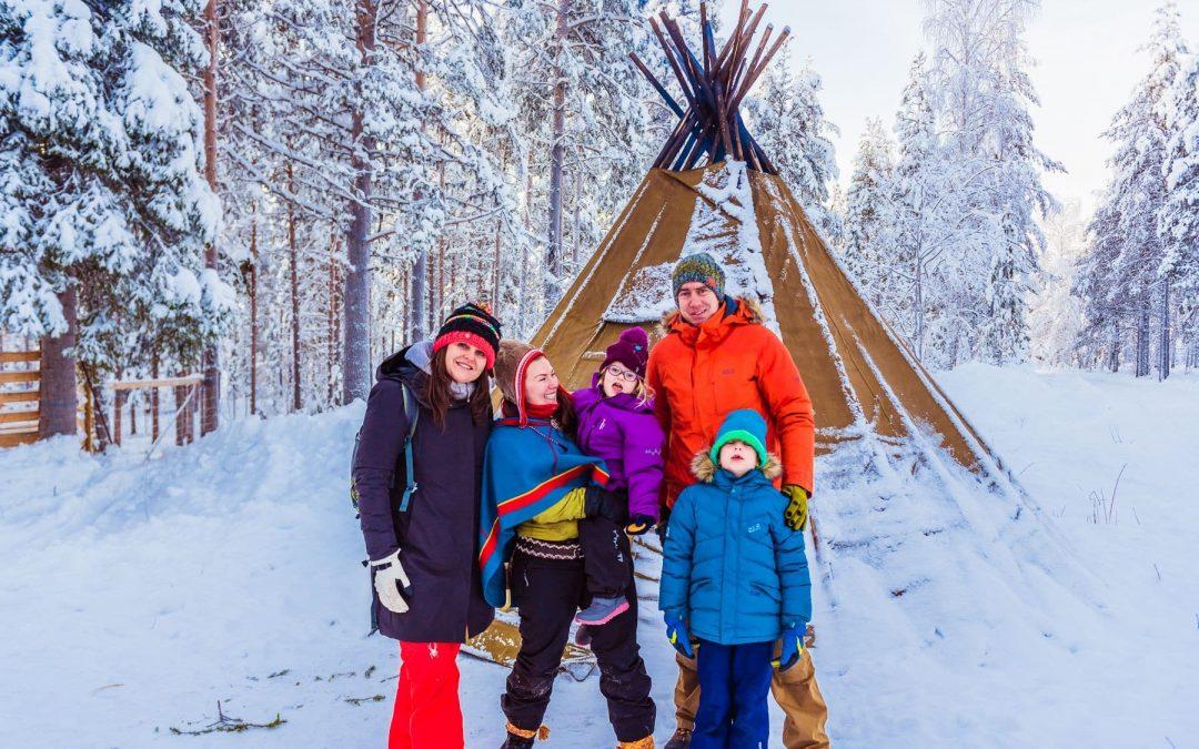 Czy Laponia jest dla dzieci? Opowieść o  surowej Laponii, krainie przyjaznej dzieciom
